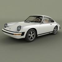 porsche 911 1974 3d model