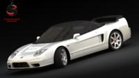 3d model honda nsx-r 2005