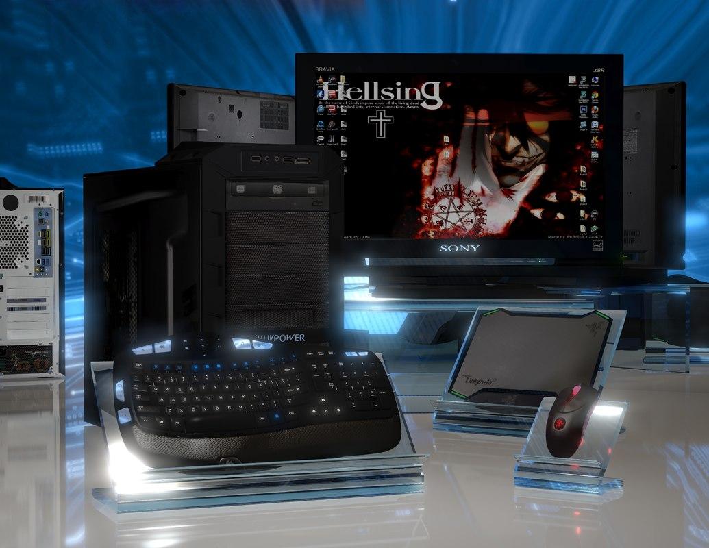 personal computer 3d max