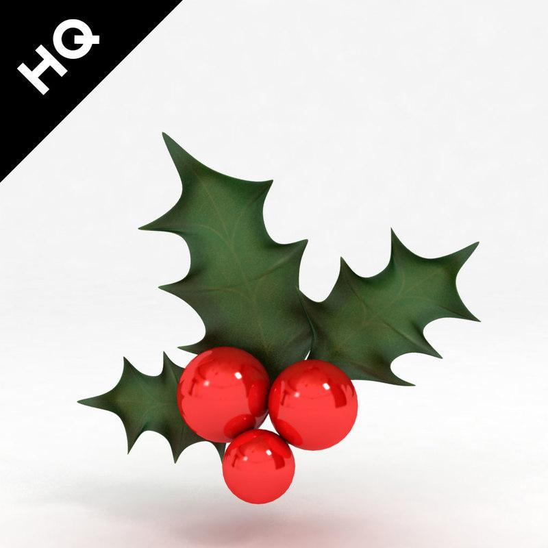 max holly decoration