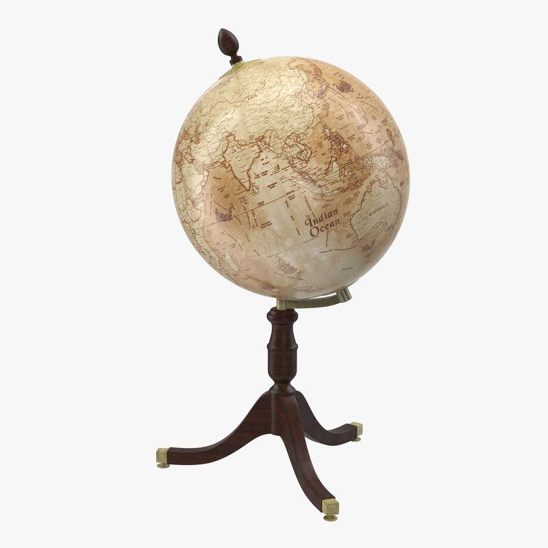 antique globe max