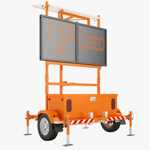 transportable road sign max