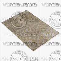 3d model jaipur rugs hr10