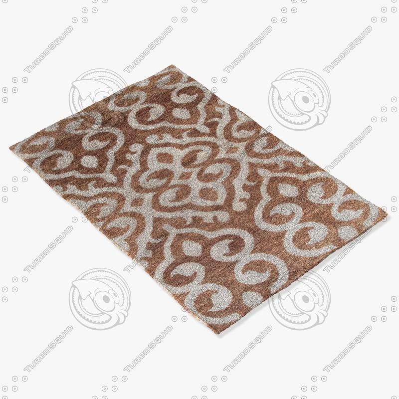 jaipur rugs hr08 3d model