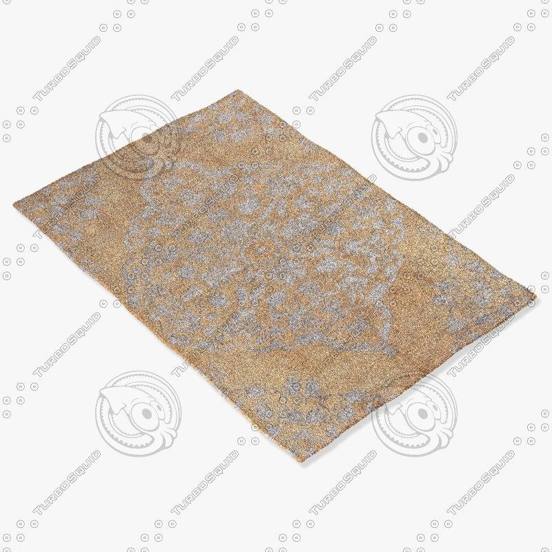 jaipur rugs hr07 3d model