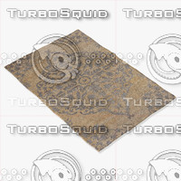 3d model jaipur rugs hr05
