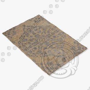 3d model jaipur rugs hr05