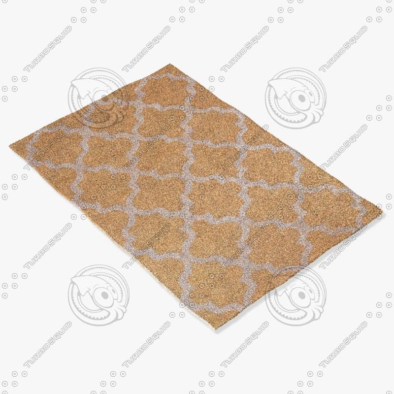 3d model jaipur rugs ct29