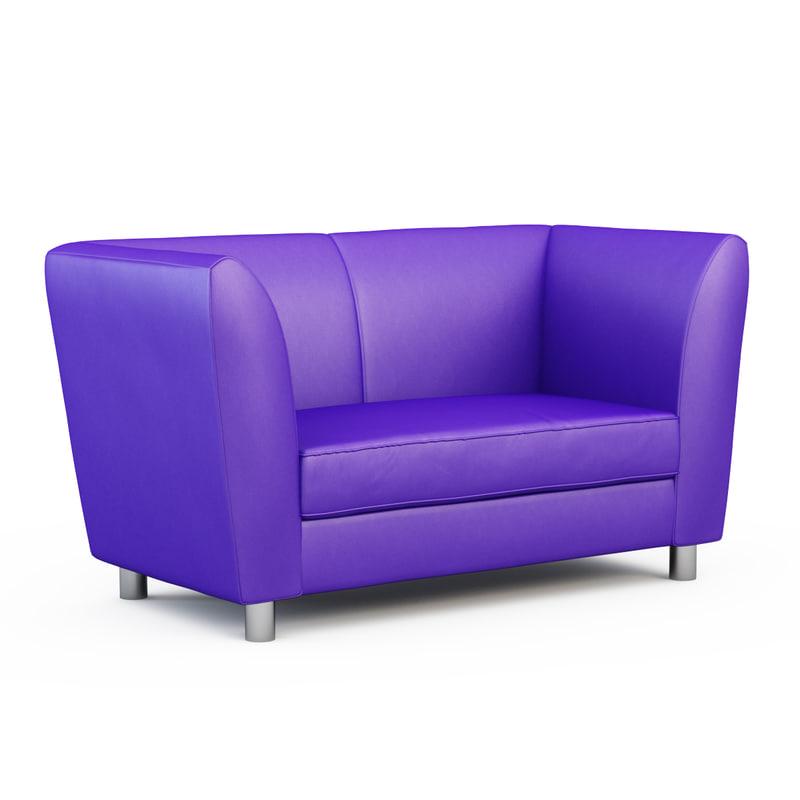 3d model sofa lukas