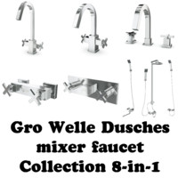 Gro Welle Dusches mixer faucet Collection