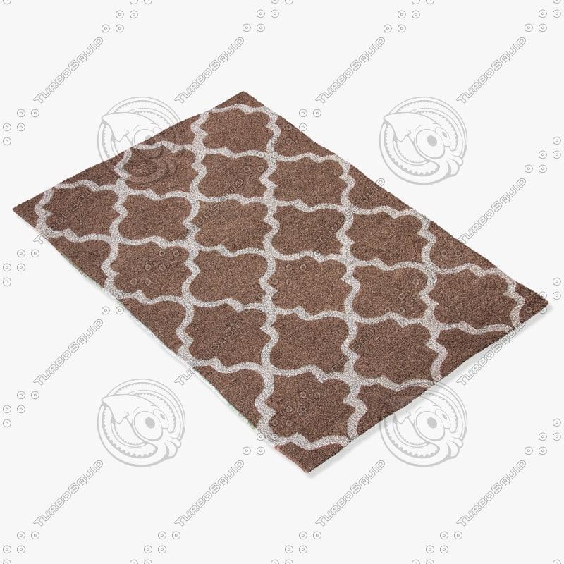 3d model of jaipur rugs ct20