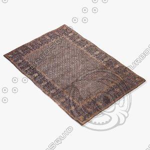 3d model jaipur rugs cs05
