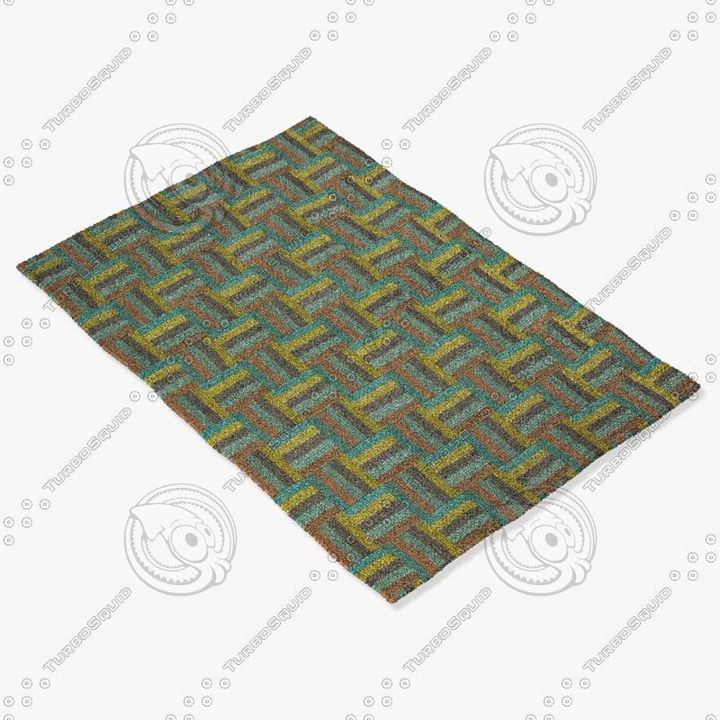 jaipur rugs cm01 3d model