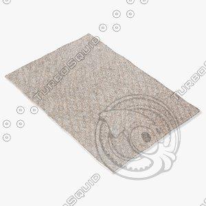jaipur rugs cln06 3d 3ds