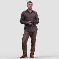 Mark Casual Standing 2 - 3D Human Model