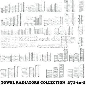 3d max towel radiators