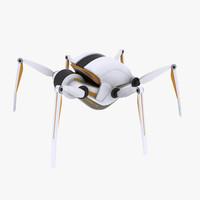 max croww 540 spider robot