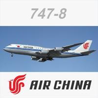 747 8 Air China