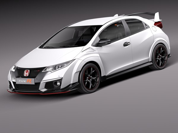 3d honda civic 2016