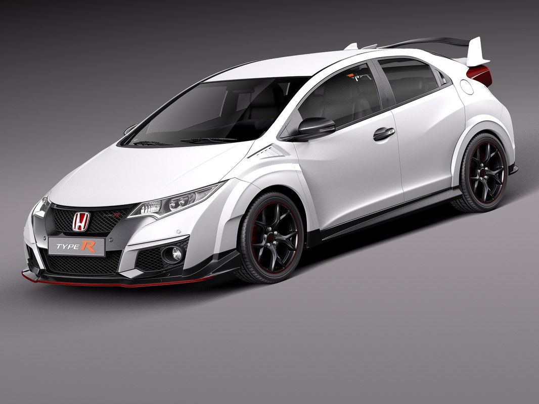 honda civic 3d фото