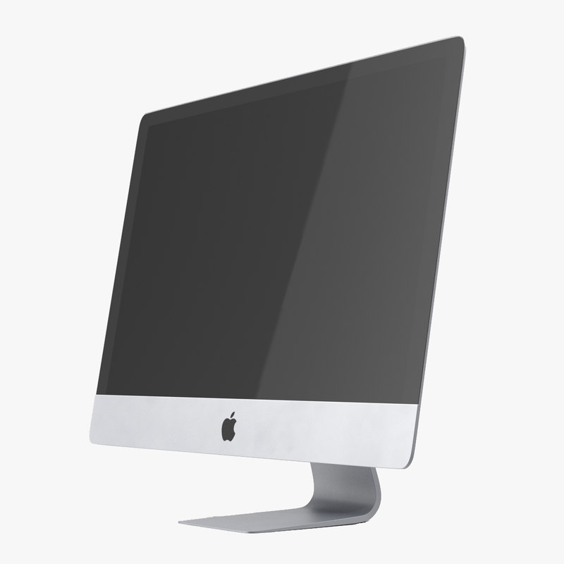 3d model of imac retina 5k display