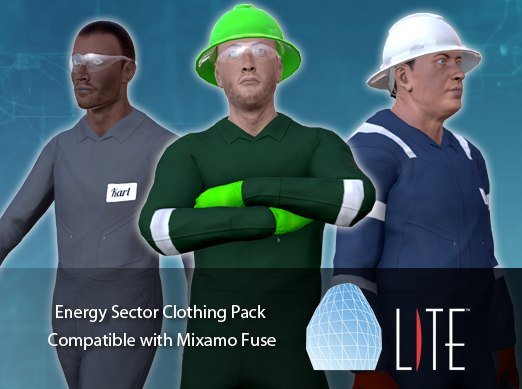 package energy clothing 3d model