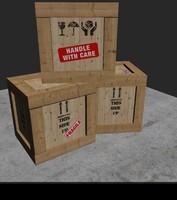 Wooden Parcel Box