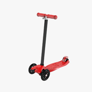 3ds kids 3 wheel scooter