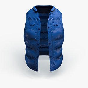 3d inflated jacket