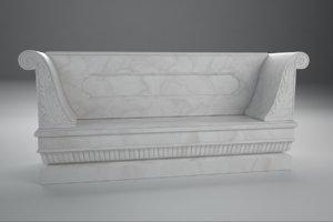 3d bench nicholas ii