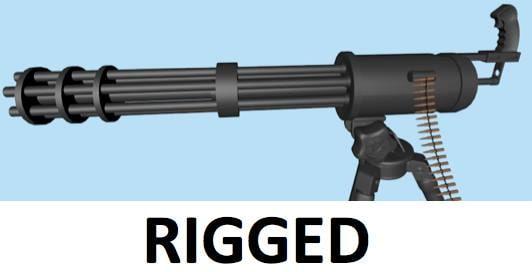 Minigun Bullet minigun chain gun bull...