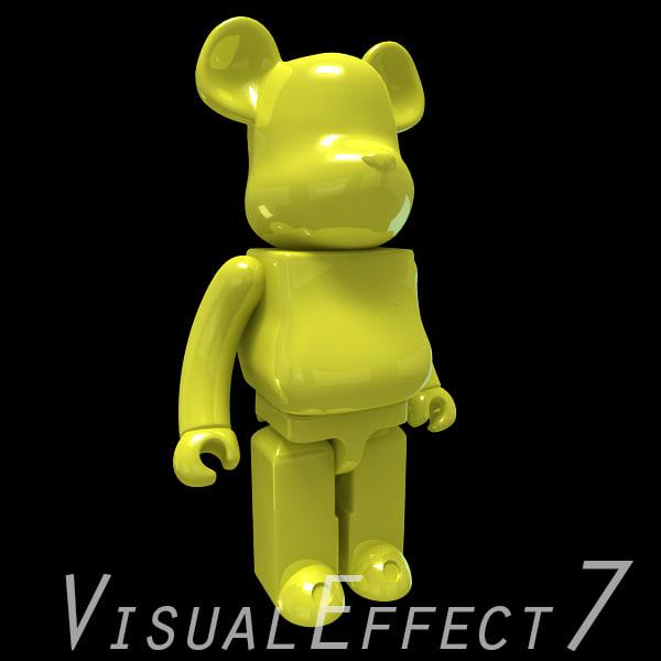 cartoon robotic 3d max