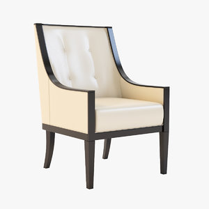 3ds max cyrano armchair sunpan