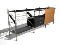 3d sistema m1 sideboard model