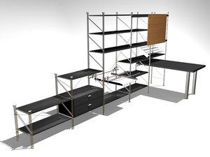 3d model sistema m1 kit