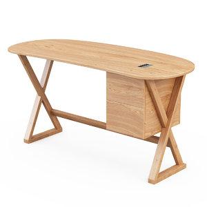 3d 3ds maxalto table sidus
