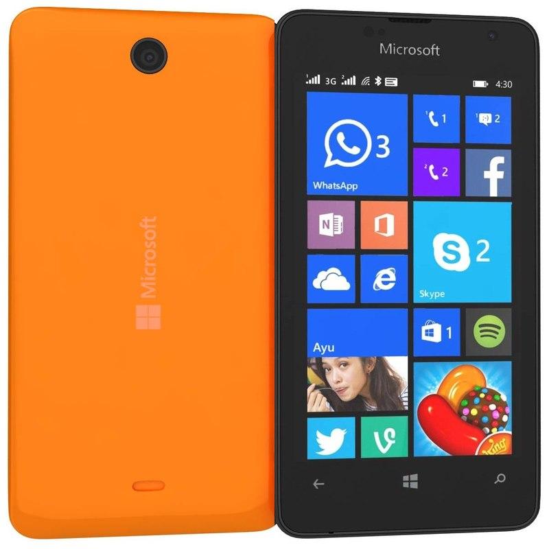 microsoft lumia 430 dual 3d model