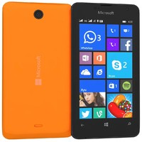 microsoft lumia 430 dual 3d model