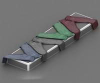 3d model jeans cloth