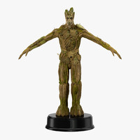 Groot Rigged