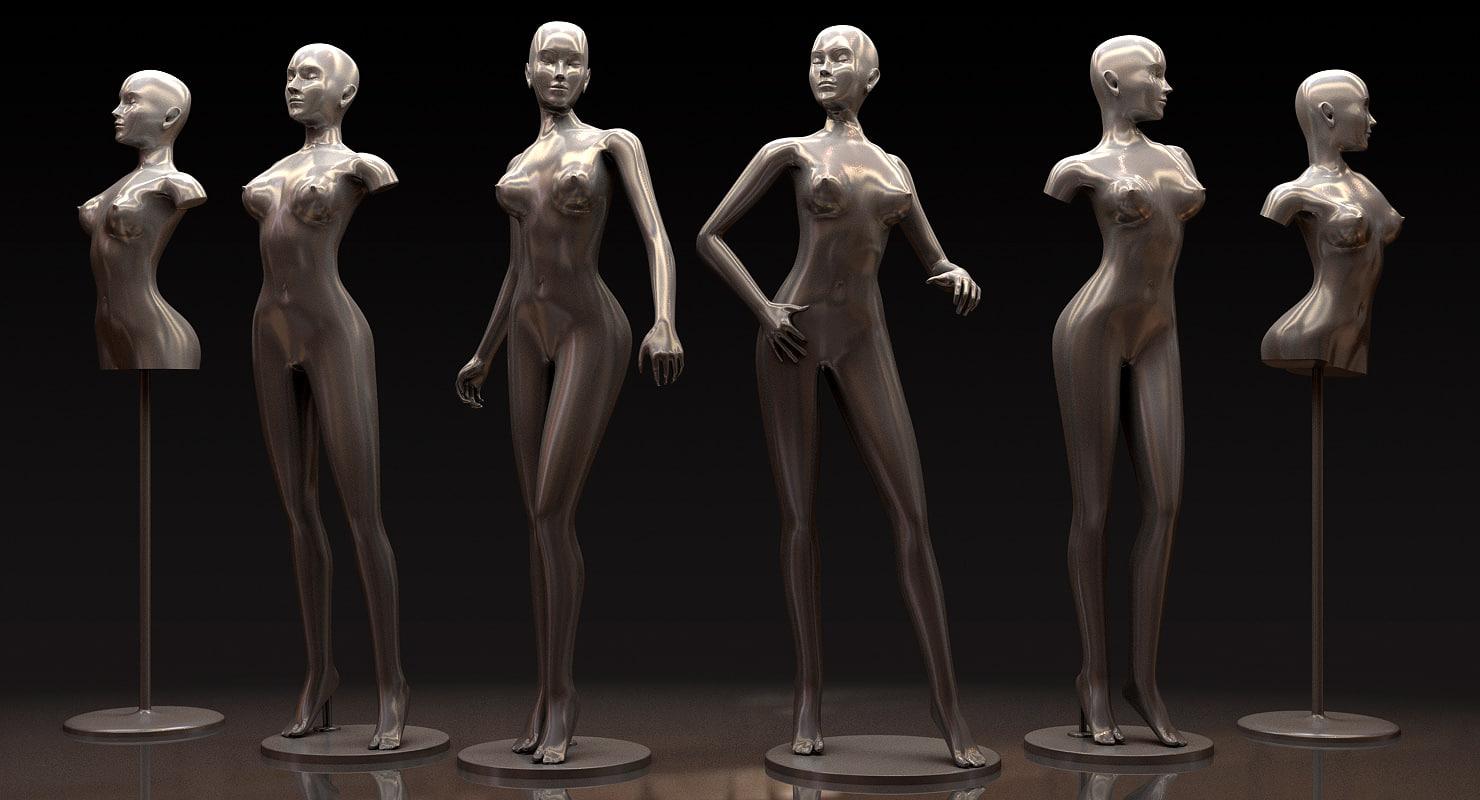 3ds max mannequin
