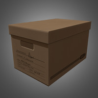 3dsmax storage moving box -