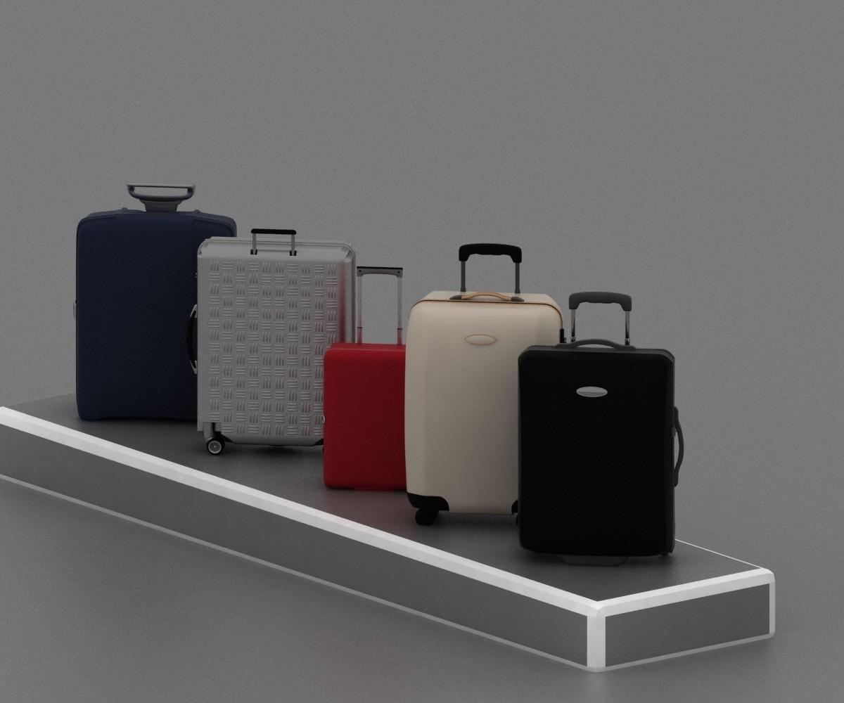 maya travel suitcase