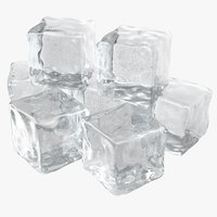 3ds max ice cubes