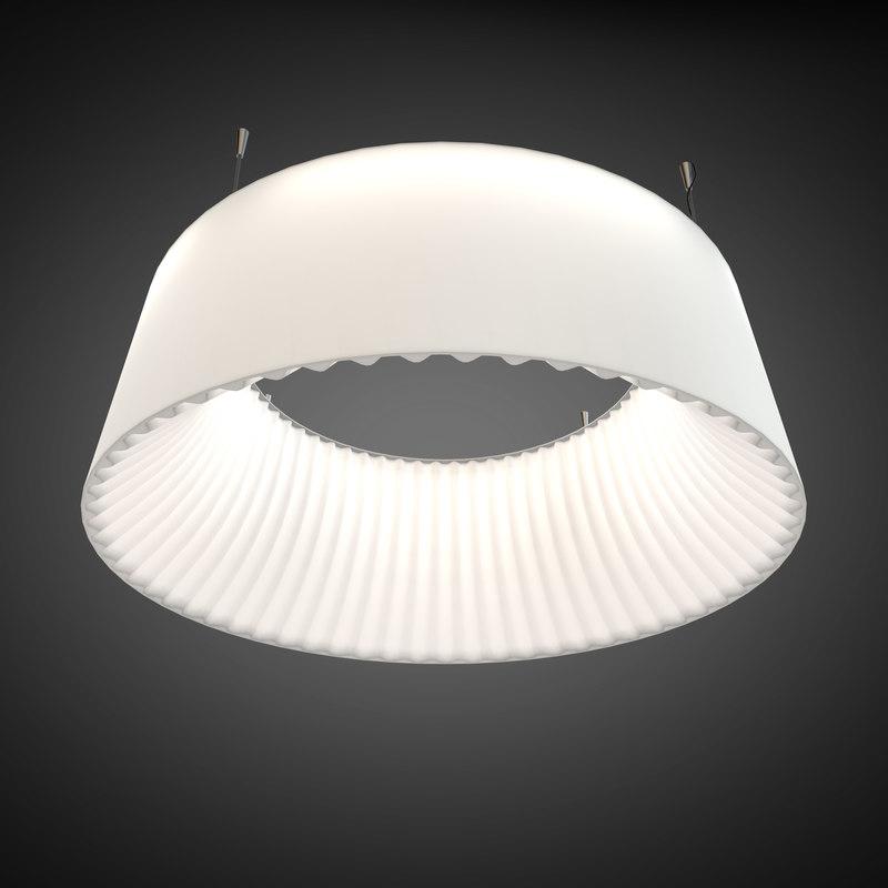 3d model pendant light wever ducre