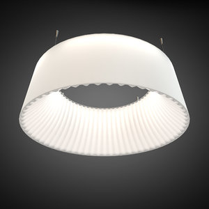 3d model pendant light wever ducre