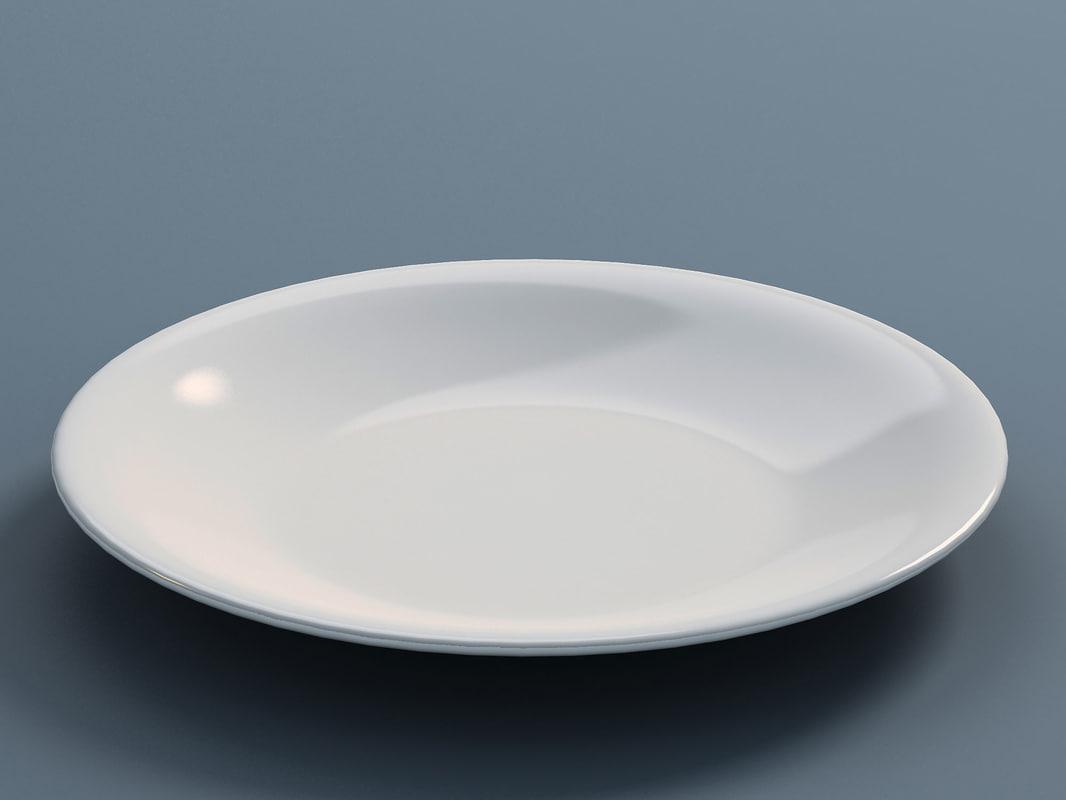 plate b 3d model