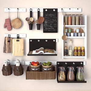 3d model kitchen decorating