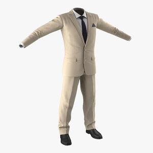 3d men suit 9