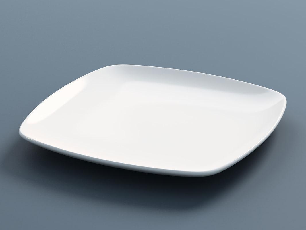 plate d 3d 3ds